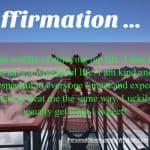 Self Acceptance Affirmation