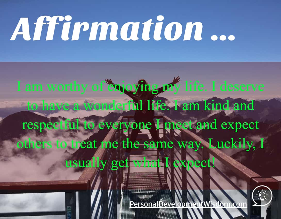 Affirmations: a selection of sites