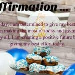 Affirmation Give My Best