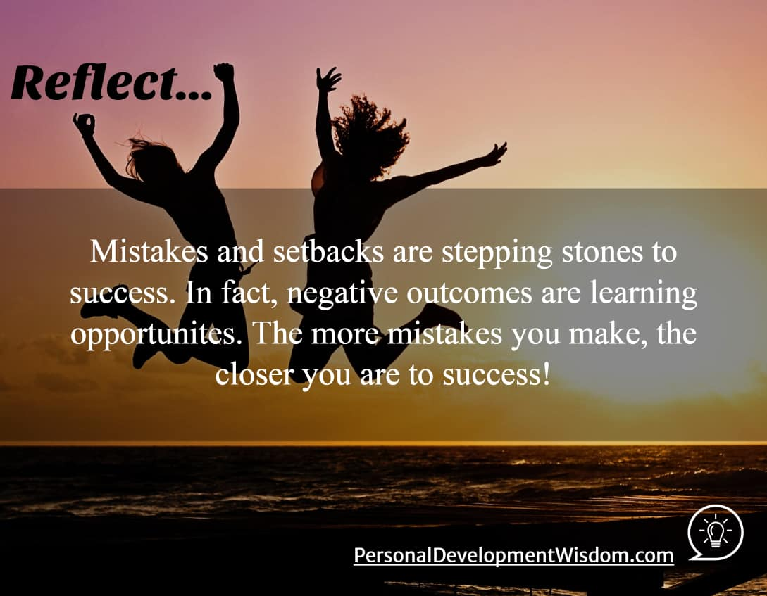 Mistakes, Obstacles Lead You To Success