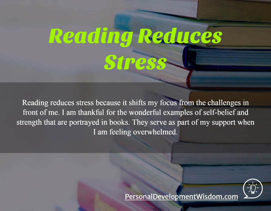 Reading Reduces Stress