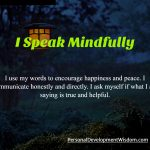 speak mindfully